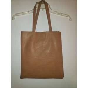 Real genuine leather tote bag